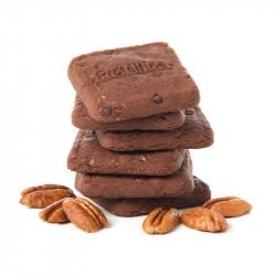 Galletas Crujientes de Brownie con Nueces Pecanas